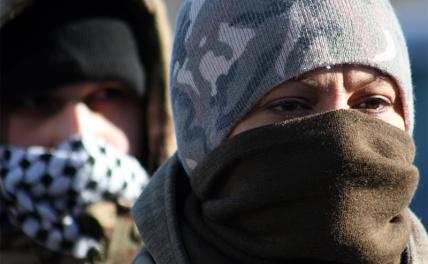 Чем глубже в Украину, тем толще партизаны украина