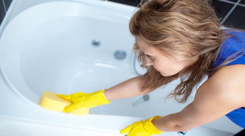 Добавьте эти 3 ингредиента и ваша ванная будет ослепительно чистой за 10 минут!
