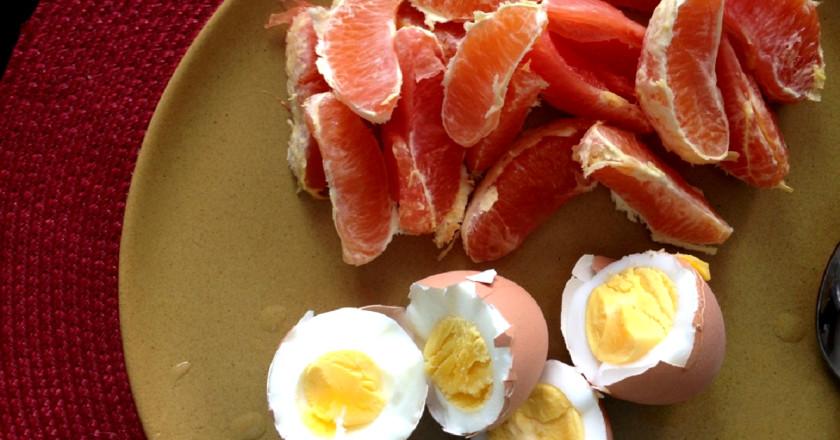 Яичное похудение рецепт