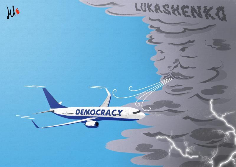 Белоруссия заземляет рейс Ryanair