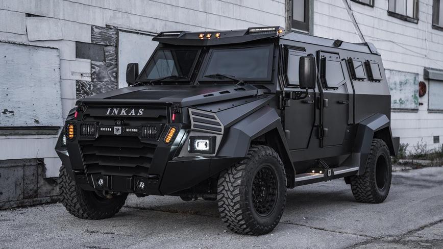 Inkas представил бронеавтомобиль Sentry Civilian на каждый день inkassentry civilian,Марки и модели