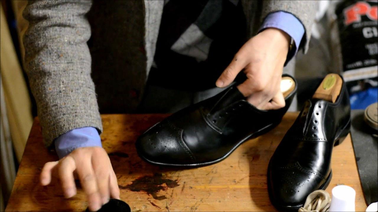 Как чистить ботинки