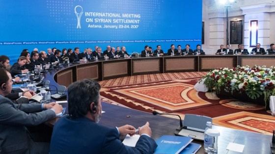 Казахстан: делегация из Дамаска покинула отель в Астане