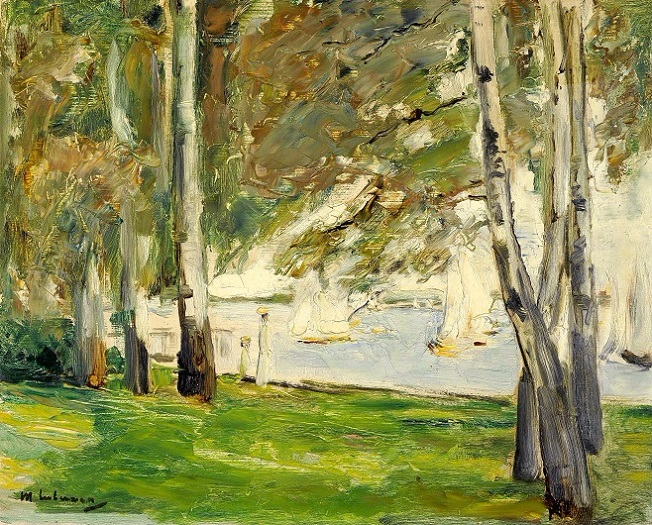 + Birch Trees on the Banks of Wannsee, to the East (652x525, 453Kb)
