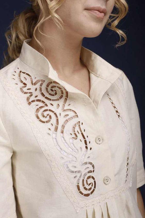 Резной декор: новое прочтение вышивки ришелье