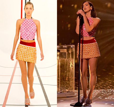 Модная битва: Лила Мосс против Дуа Липы