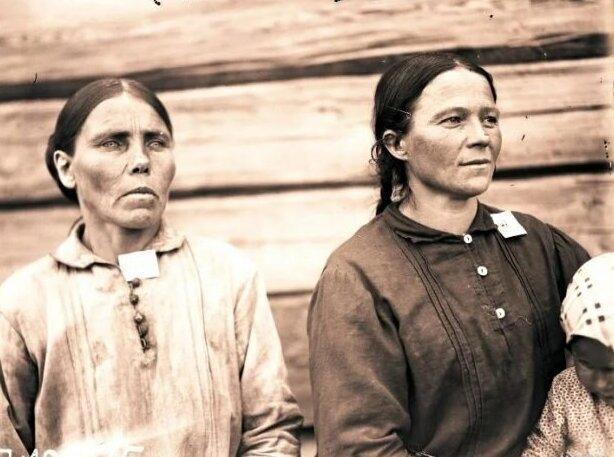 Как раньше выглядели крестьяне ввозрасте 30−40 лет