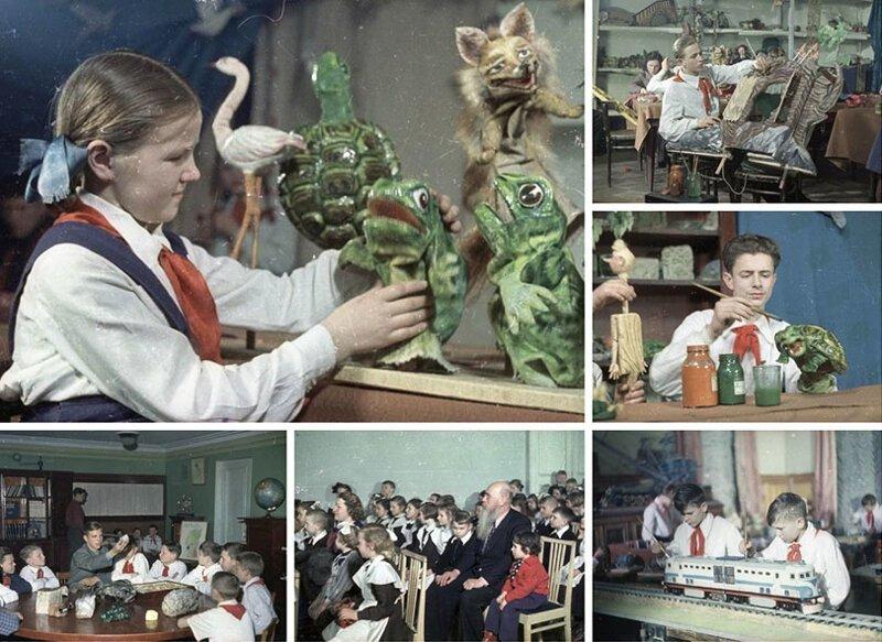 Общественное воспитание. СССР, история, факты