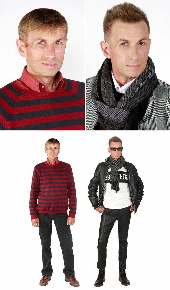 Михаил, 48, актер Стиль, красиво, красота, макияж, преображение, стилист