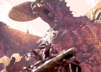 Сражения с десятками древних гигантских драконов показали в игре Monster Hunter: World