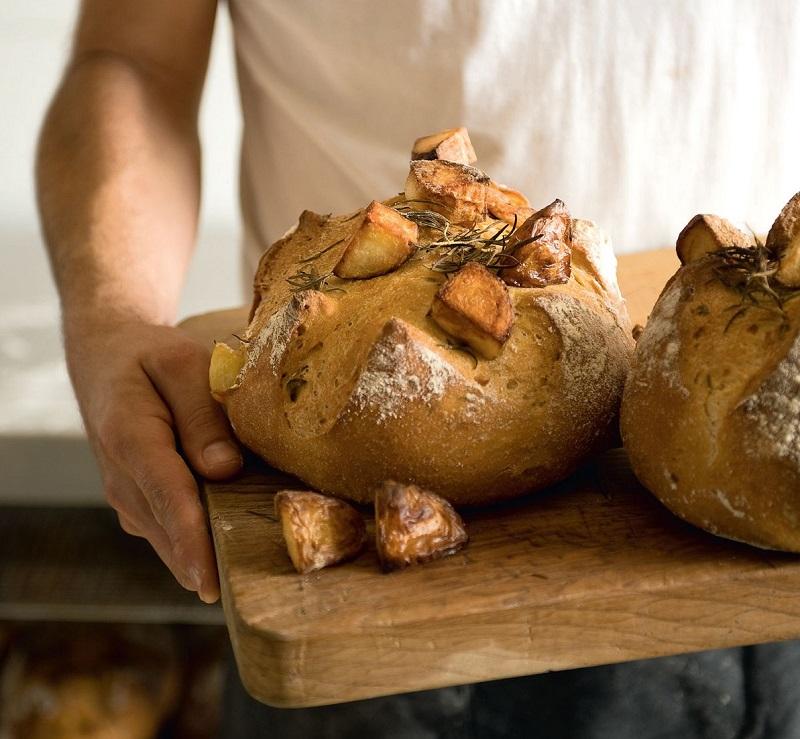 хлеб из картофеля