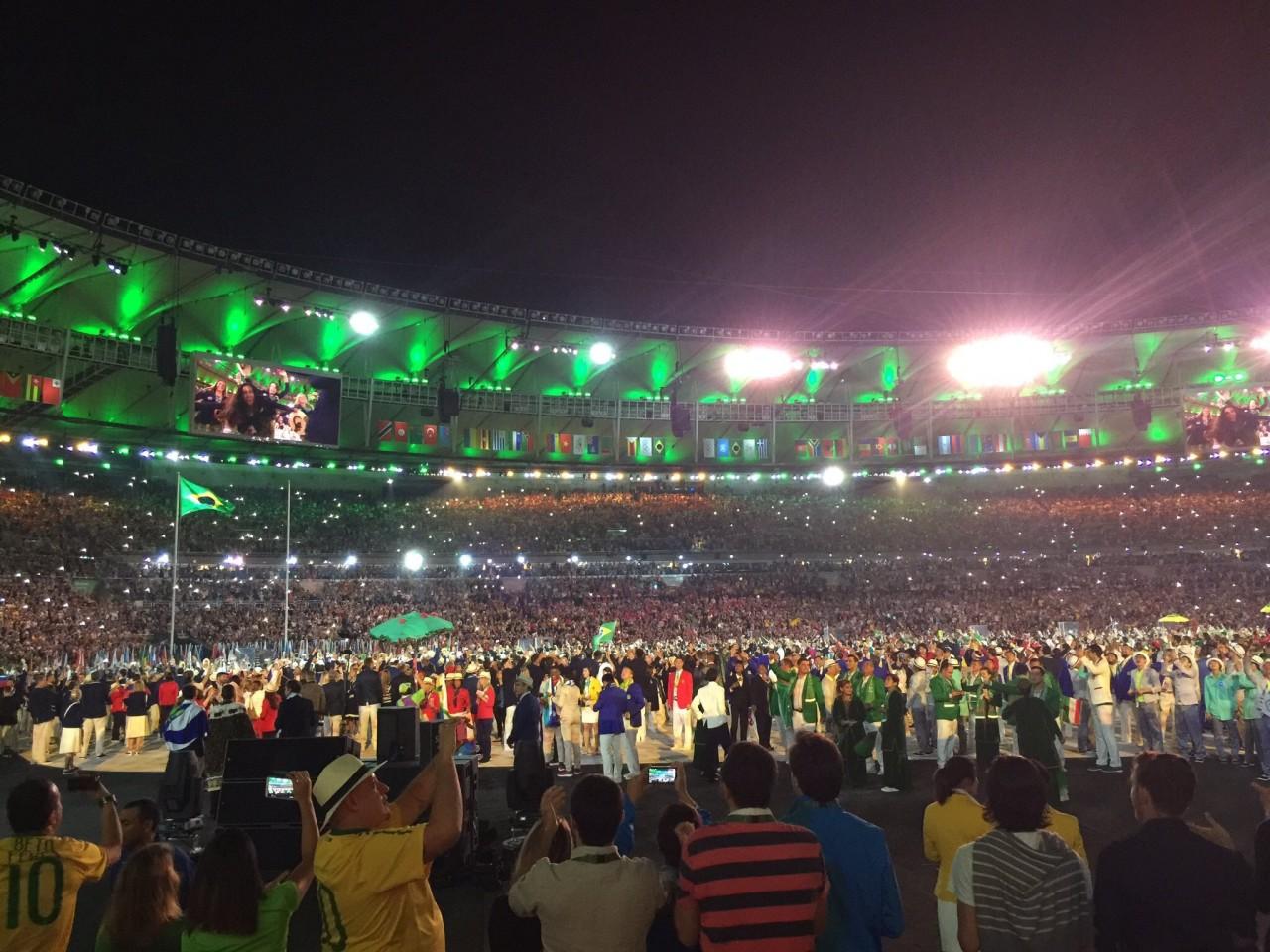 В Рио-де-Жанейро прошла цере…