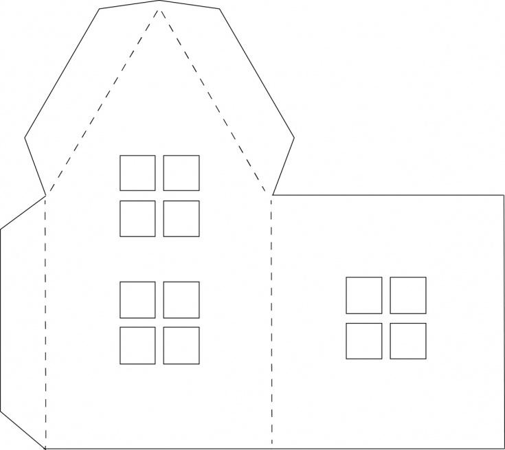 Объемные поделки из бумаги шаблоны для вырезания распечатать а4