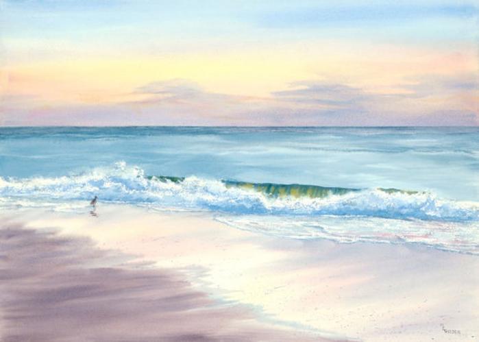 Нарисуй мне, художник, море...