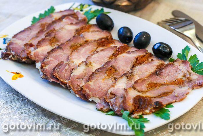 Свиная шейка запеченная «Закусочная». Фотография рецепта