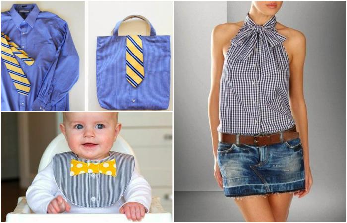 original Как переделать мужскую рубашку в женскую блузку — инструкции по перешивке