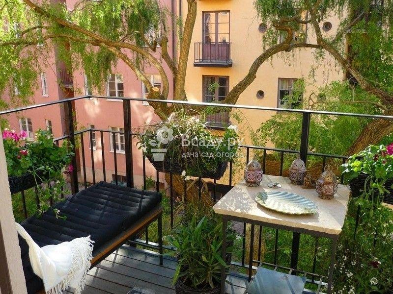 Балкон весной