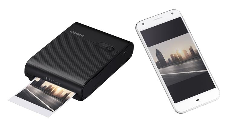 Canon Selphy Square QX10: карманный принтер для печати фотографий со смартфона