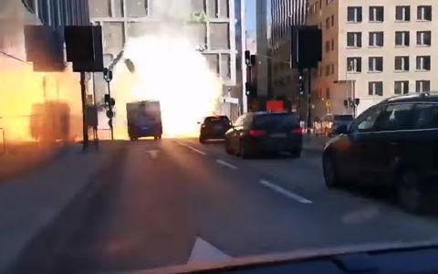 Взрыв автобуса с ГБО: не вписался в туннель