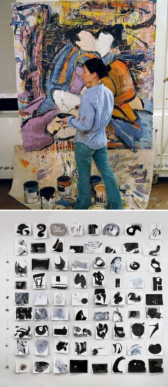 Люси Лиу живопись, звезды, знаменитости, кино, многогранный талант, неожиданное увлечение, художники, эстрада