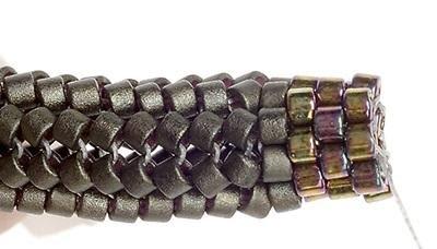 Как плести жгут из бисера. Схемы плетения и пошаговый мастер-класс (3) (400x228, 50Kb)