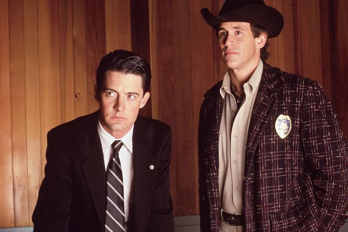 Агент Купер и шериф Трумен