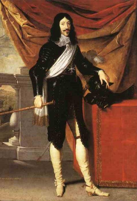 Король Людовик XIII.