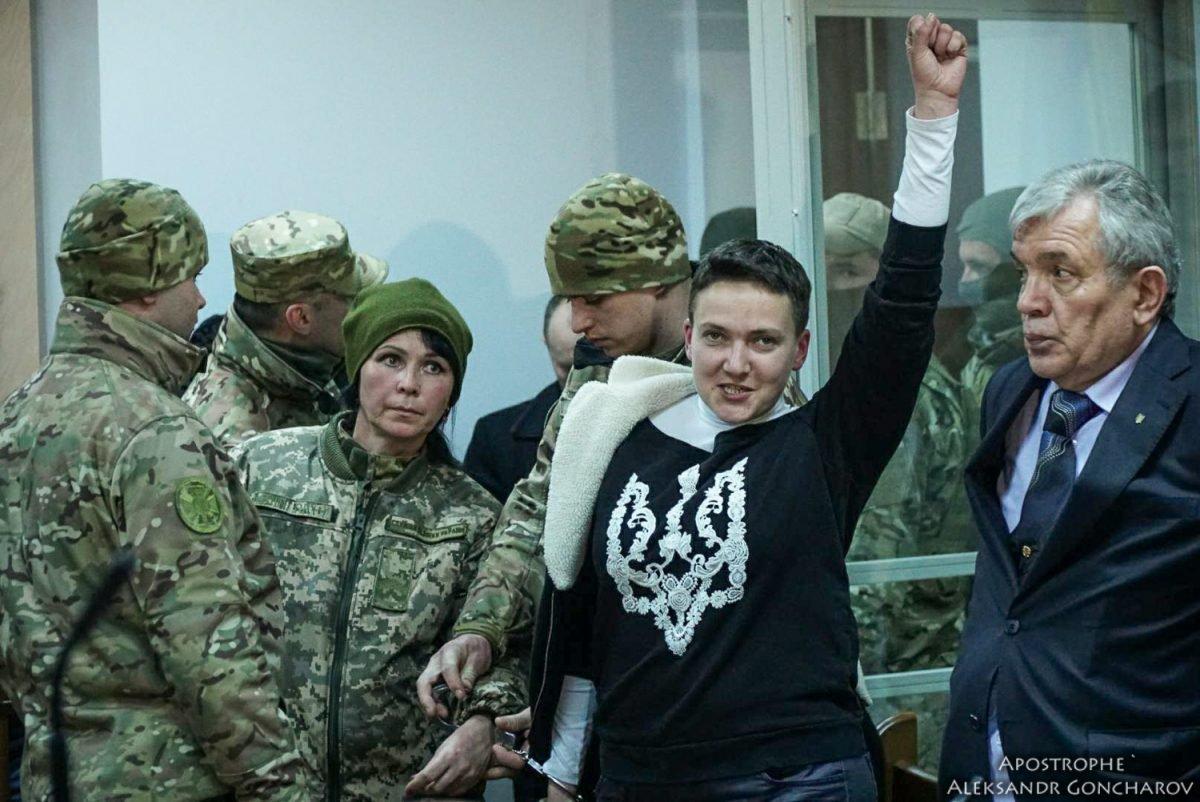 Савченко закрыли на 2 месяца
