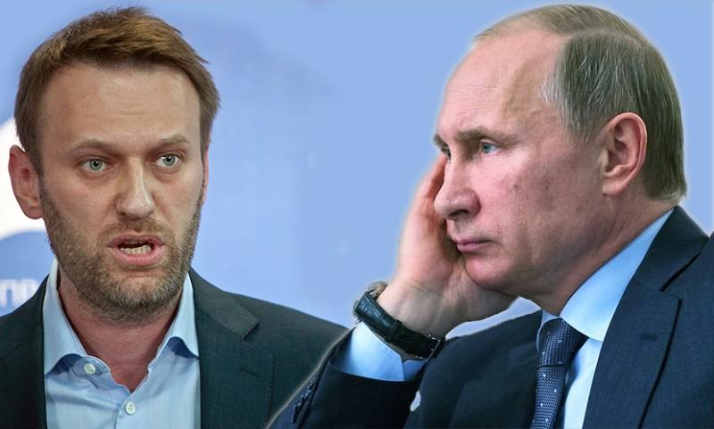"""Сыновья и внуки добрейшего """"дедушки Вовы"""" Путина: Навальный все еще в бреду Политика"""