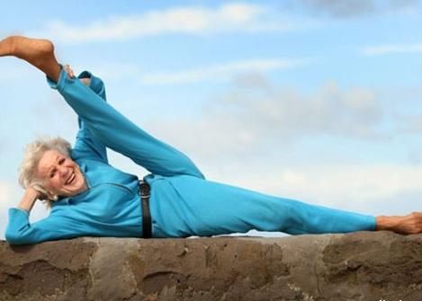 84-летняя дама из Австралии …