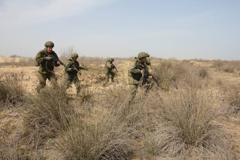 Усиление морской пехоты Каспийской флотилии