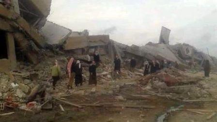 США стирает сирийскую Ракку с лица земли