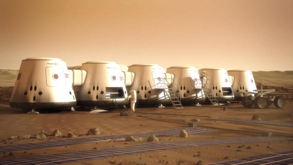 Проект колонии от Mars One / ©Mars One