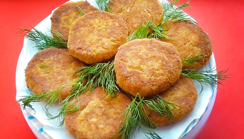Рецепт аппетитных и вкусных кабачковых котлет без грамма мяса