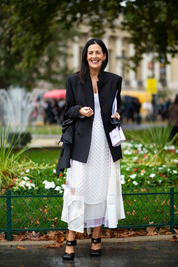 Черно-белое сочетание никогда не выйдет из моды. /Фото: fashionista.com