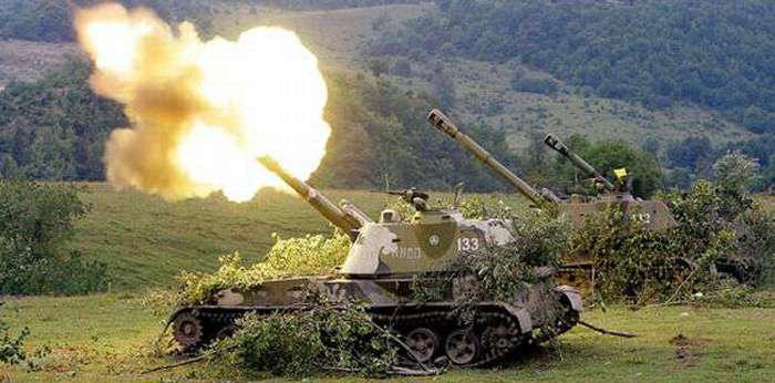 ВСУ выпустили по ДНР около 300 артиллерийских снарядов и мин