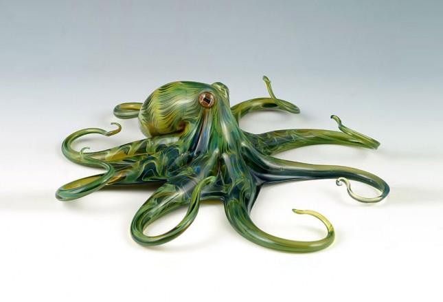 Зверушки из стекла Скотта Биссона вещи, дизайн, инсталляции