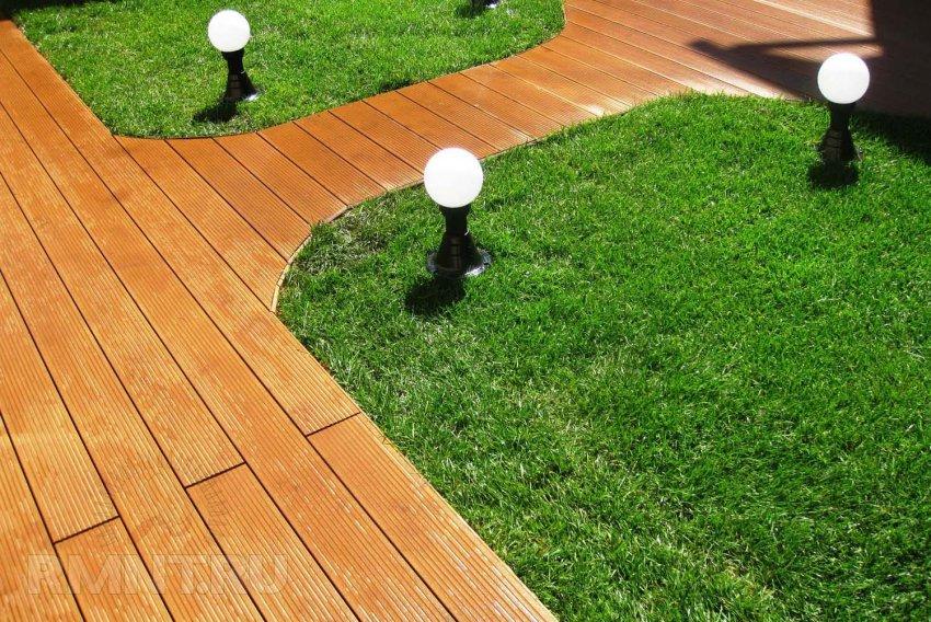 Выбор материалов для садовых дорожек | ИнноваСтрой