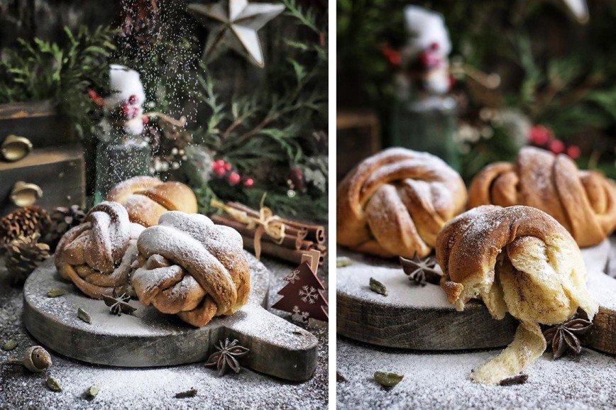 Шведские булочки с кардамоно…