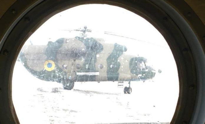 Вертолет с главами МИД стран Балтии, Украины и Польши не долетел до Мариуполя