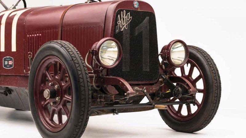 Уникальная Alfa Romeo G1 1921 года на продажу