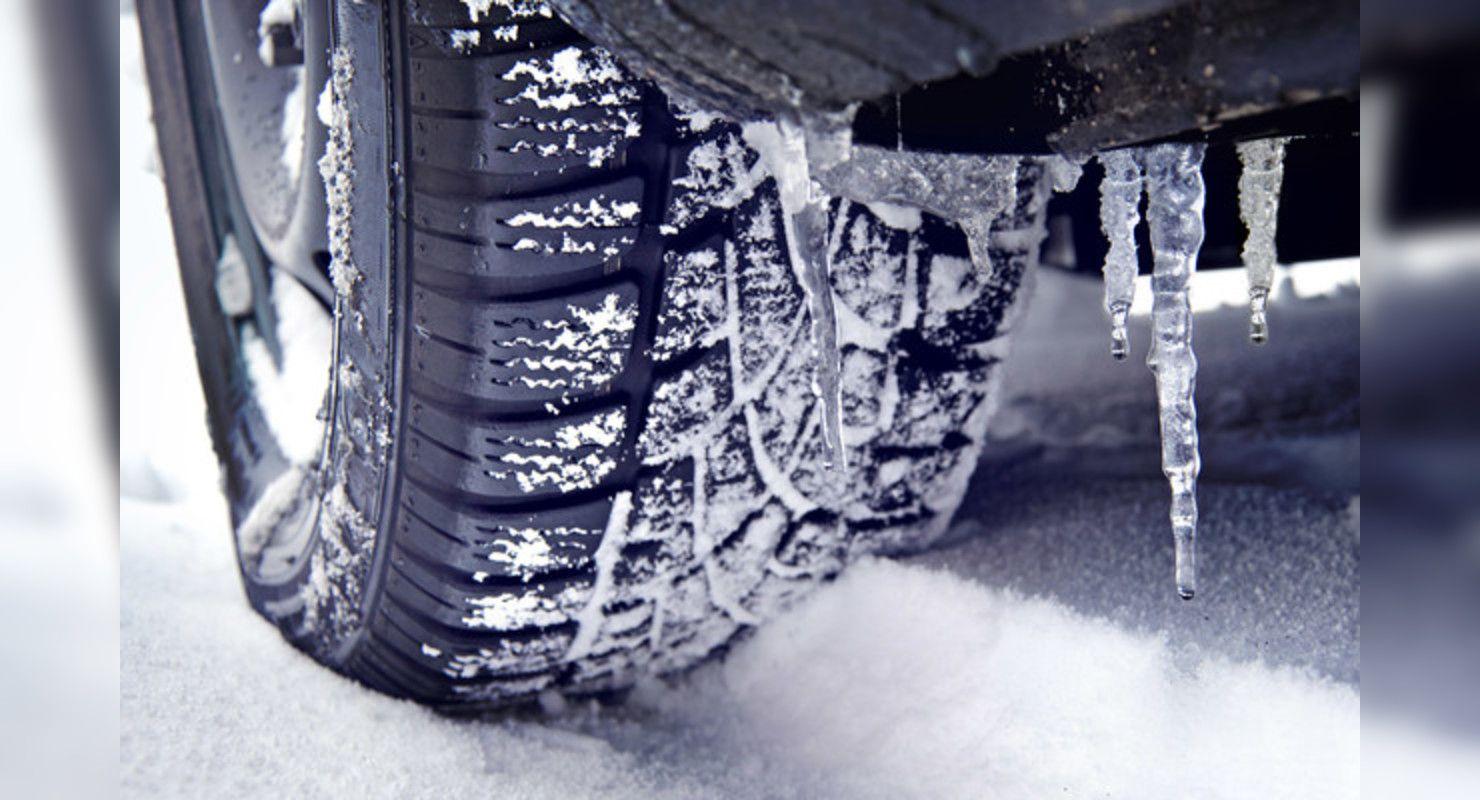 Автомобилистам рассказали о правильном давлении в шинах во время морозов Автомобили
