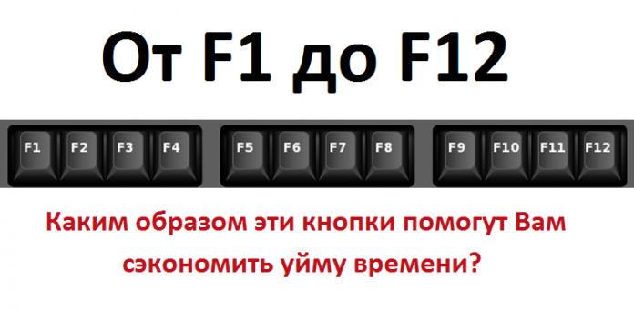 От F1 до F12: каким образом …