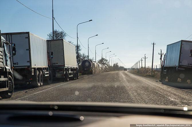 Как работает паром, перевозящий в Крым