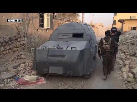 Руины улиц Ракки впечатляют масштабами разрушений