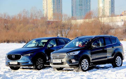 Ford Kuga и Mazda CX-5: щеголь и простак