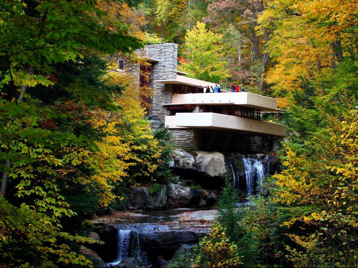 даже шустрые дом над водопадом фрэнка ллойда райта фото этому