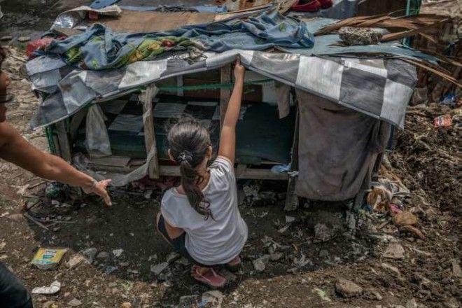 Вот так выглядит чьёто жильё на Филиппинах Автор James Whitlow Delano