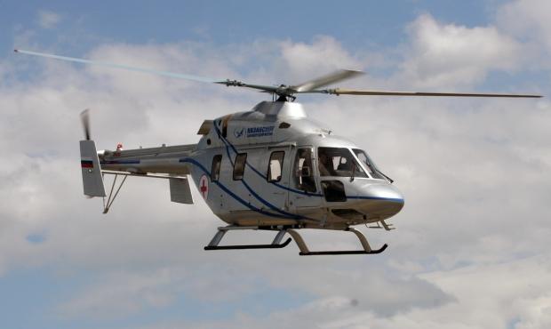 Российский вертолет «Ансат» …