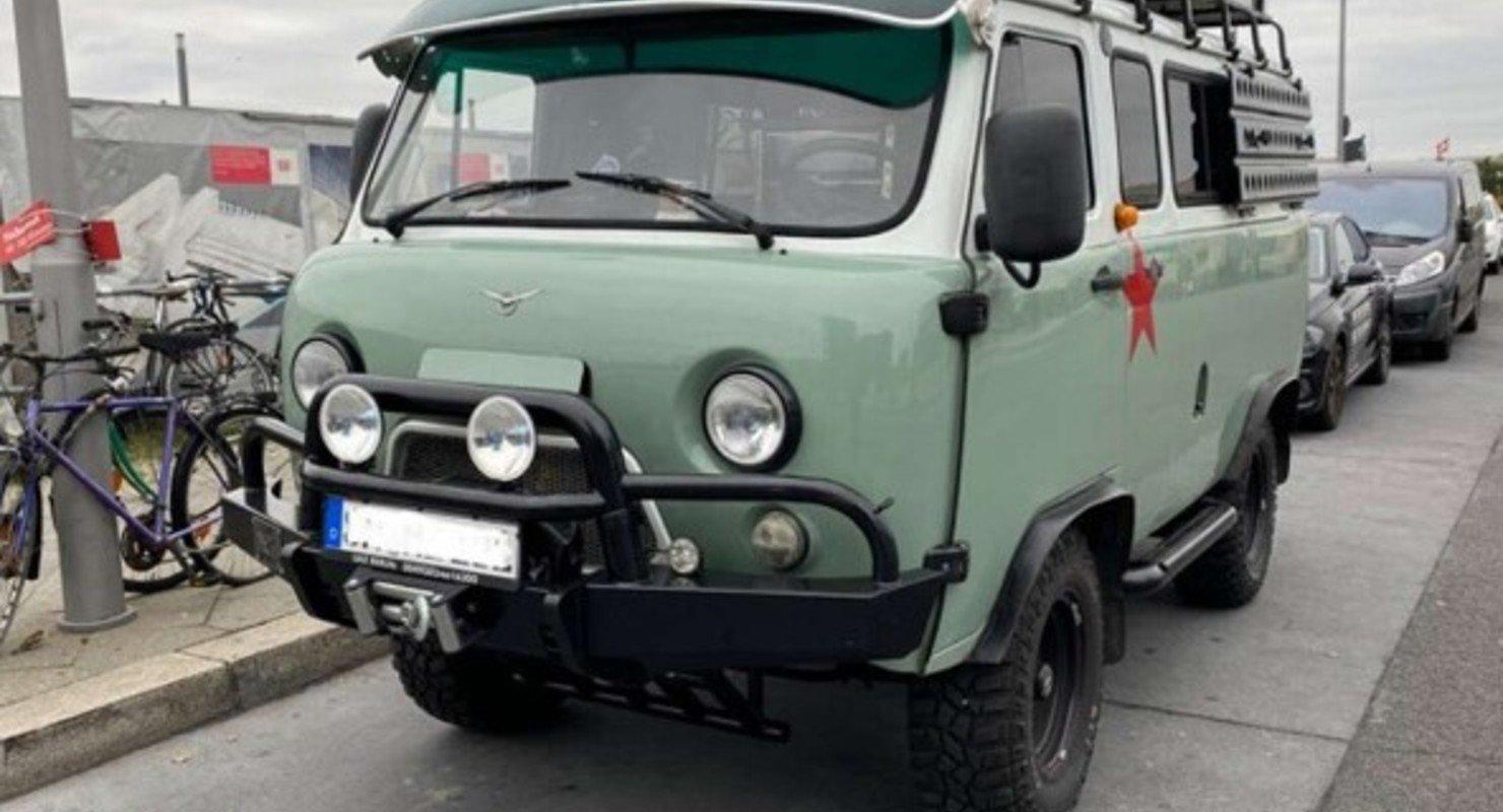 В Германии продают необычную «Буханку» за 3 600 000 руб Автомобили